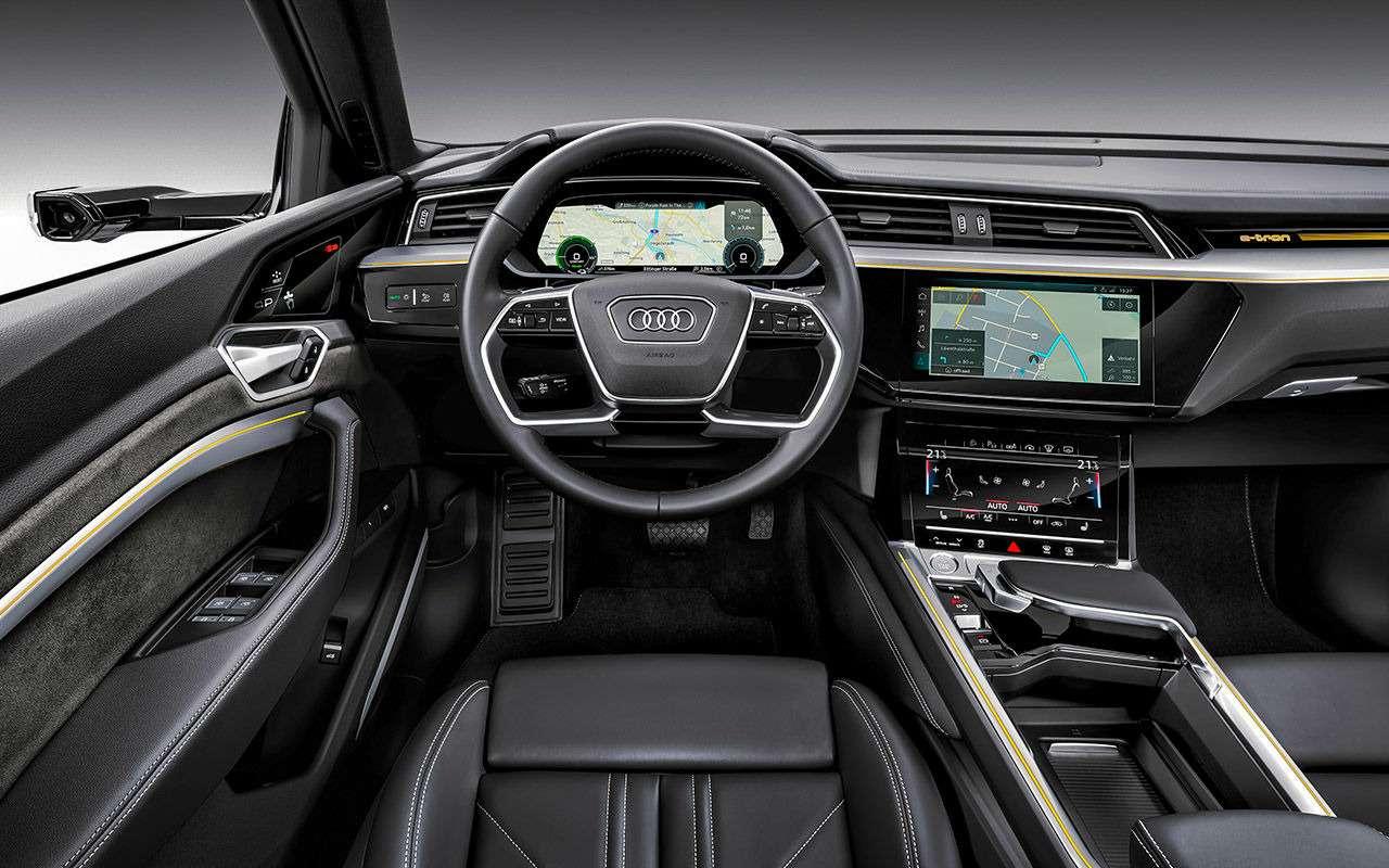 Первый электрокроссовер Audi: его будут продавать унас— фото 908789
