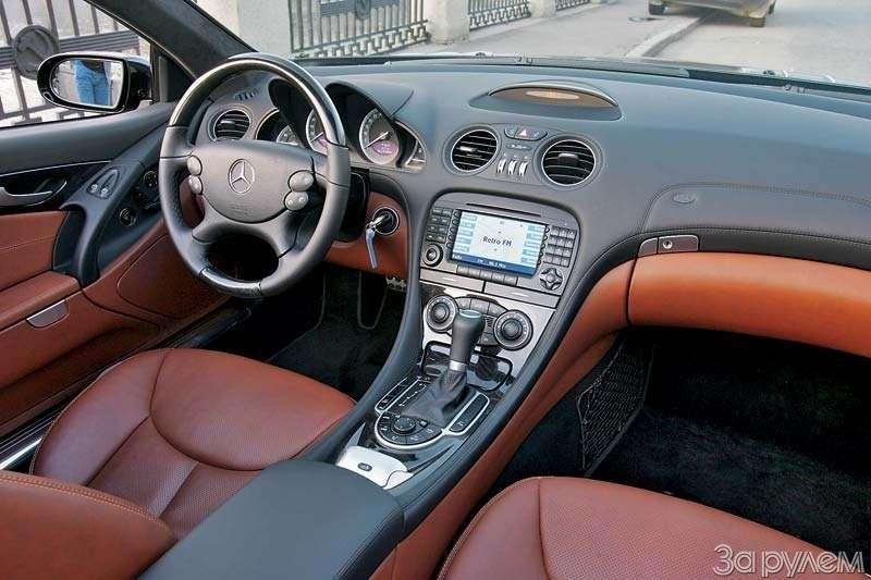 Тест Mercedes-Benz SL500. ЧТО МОГУТ КОРОЛИ— фото 68929