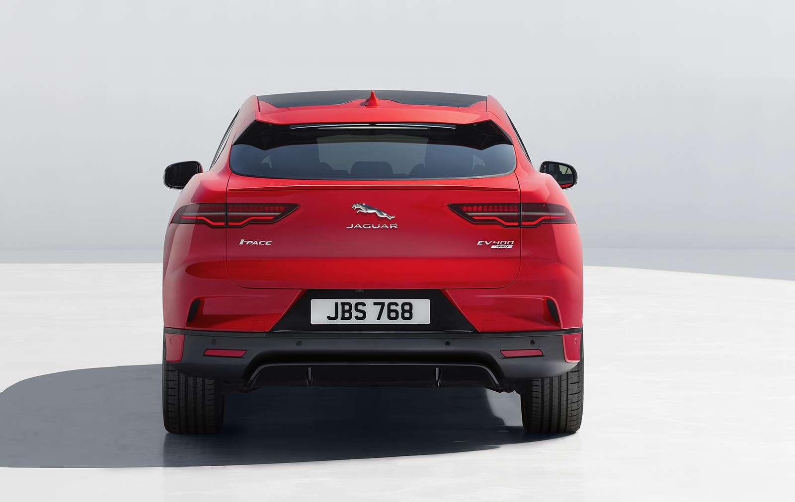 Jaguar I-Pace: первая электрическая «кошка». Ждем вРоссии!— фото 849696