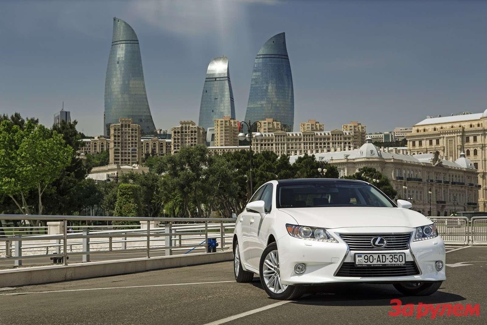 Lexus ES: перезагрузка впечатлений— фото 135055