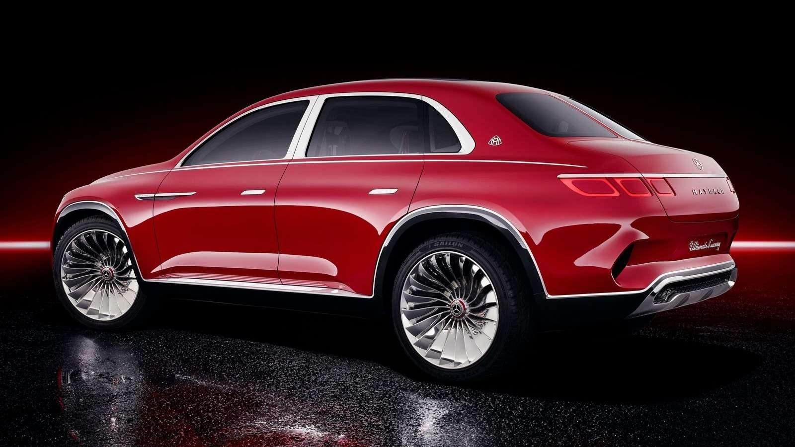 Кросс-седан Mercedes-Maybach Ultimate Luxury: золото, чайник, электричество— фото 865358
