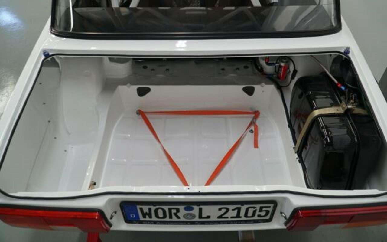 В Германии продают легендарный ВАЗ-2105 ВФТС смизерным пробегом— фото 1138584