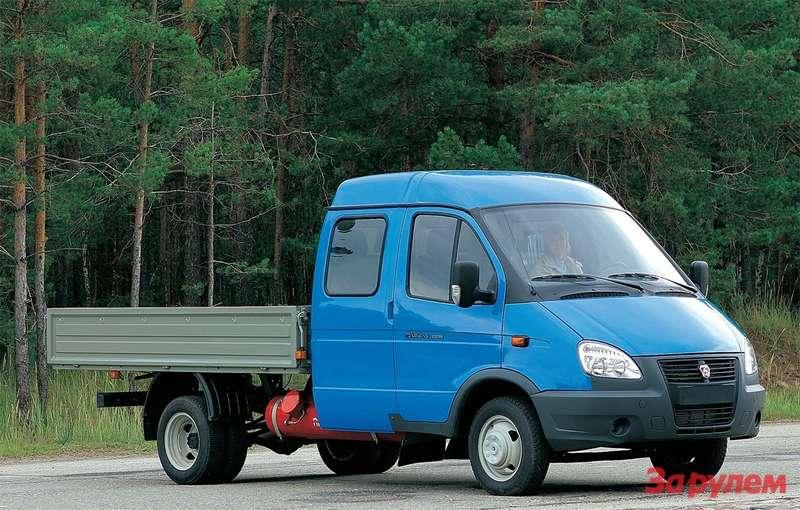 Надлиннобазной машине стоит 120-литровый баллон, обеспечивающий запас хода более 450км.