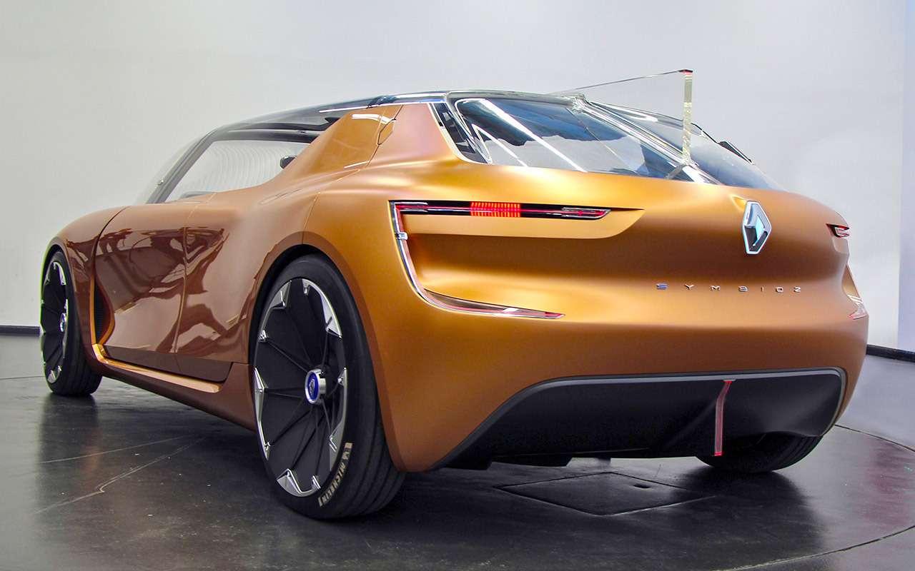 Новый Renault Symbioz— автомобиль-дом избудущего— фото 800980