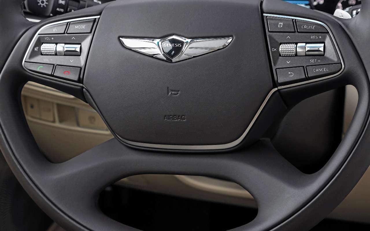 Большой тест престижных седанов: новый Lexus LS500и конкуренты— фото 928751