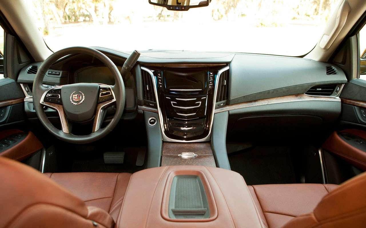 7 больших плюсов и5относительных минусов Cadillac Escalade— фото 984641
