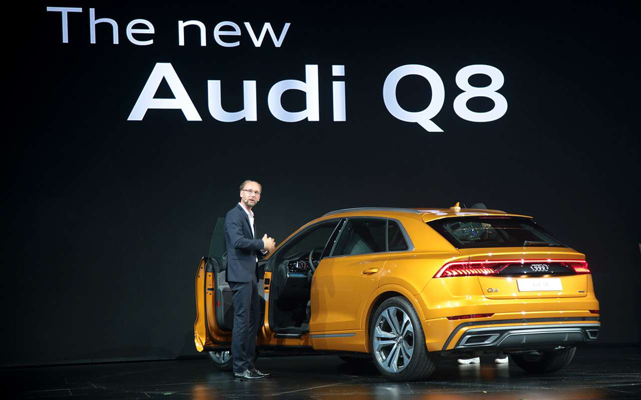 Новый Audi Q8: когда восемь меньше семи— фото 882159