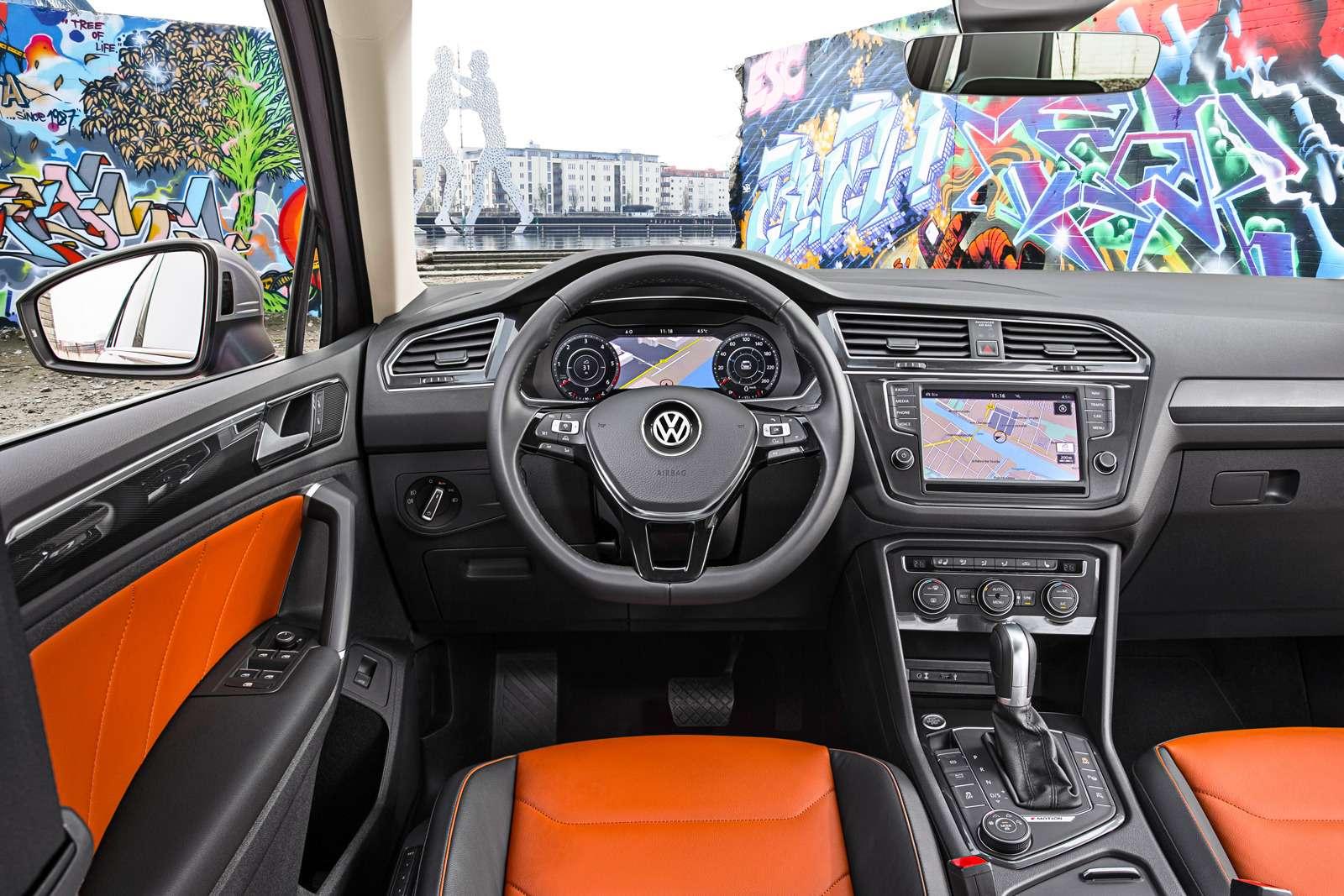 Тест нового Volkswagen Tiguan: победа экологов надавтоспортсменами— фото 594458