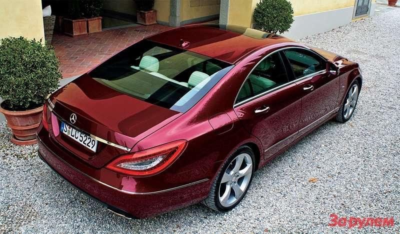 Mercedes-Benz CLS знает толк вкомфорте иодновременно может заразить спортивным азартом.