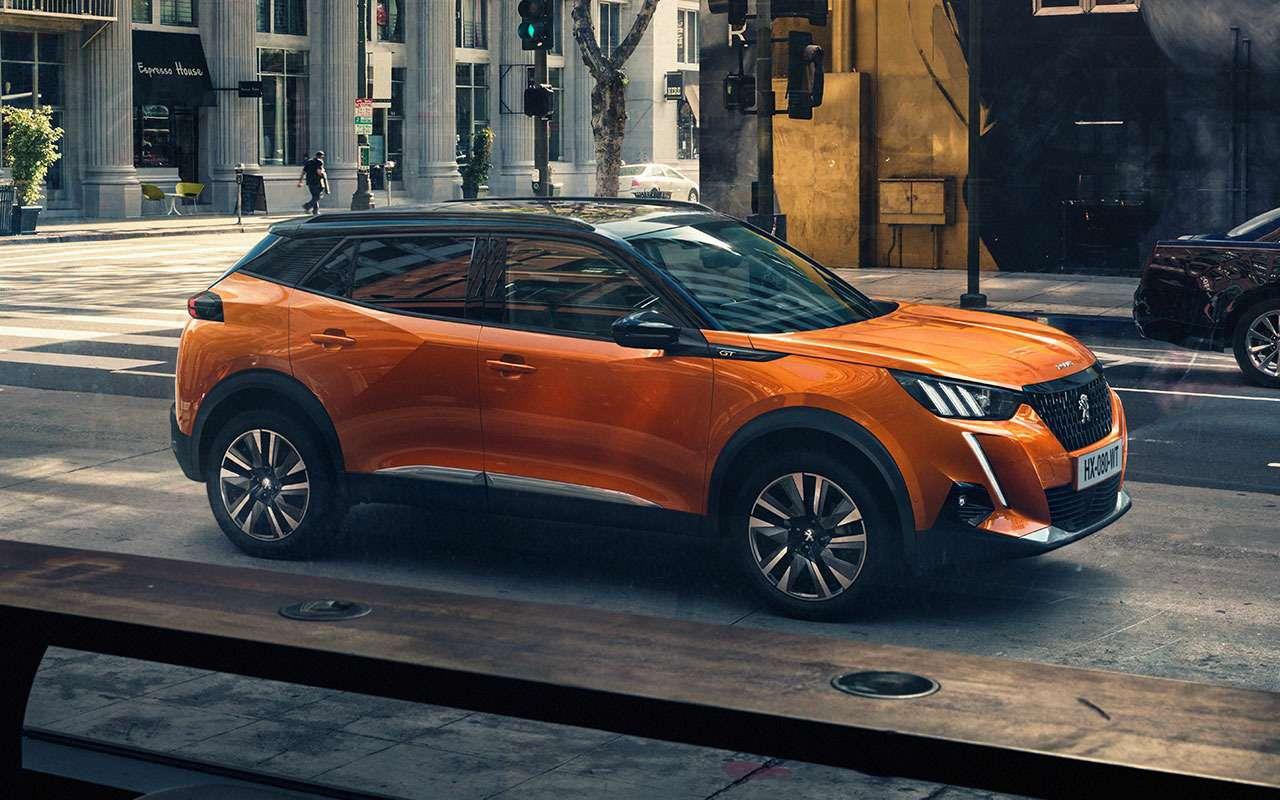 Peugeot везет вРоссию недорогой кроссовер— фото 1199312