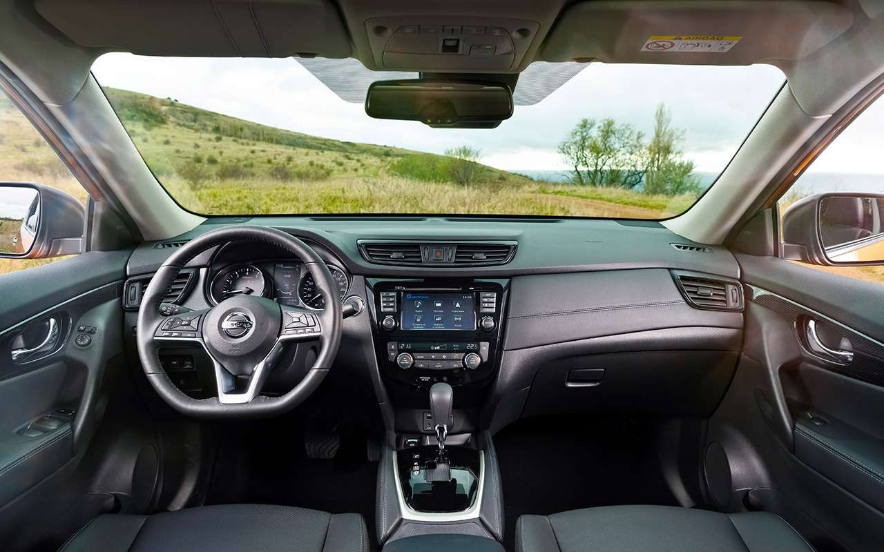 Первые километры наобновленном Nissan X‑Trail: шумоизоляция иЯндекс— фото 939310