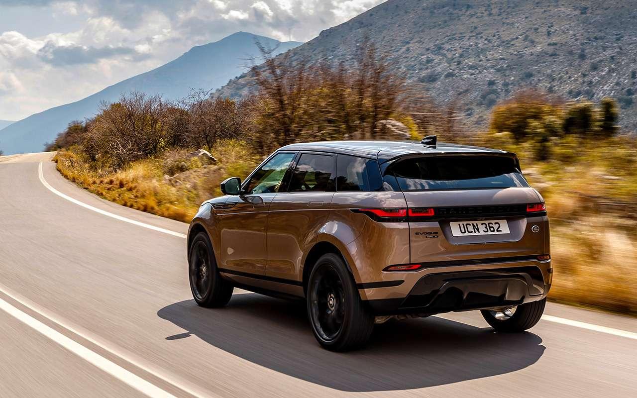 Новый Range Rover Evoque: первый тест серийного кроссовера— фото 968503