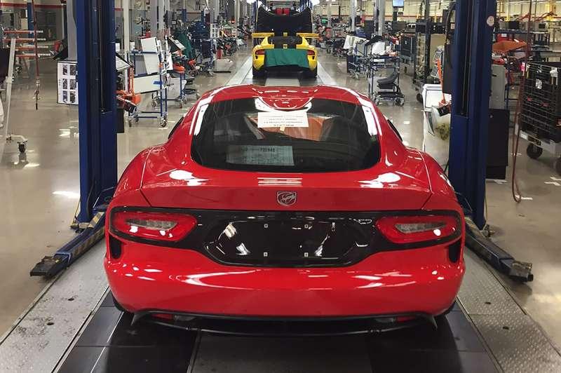Суперкар Dodge Viper преждевременно сняли спроизводства