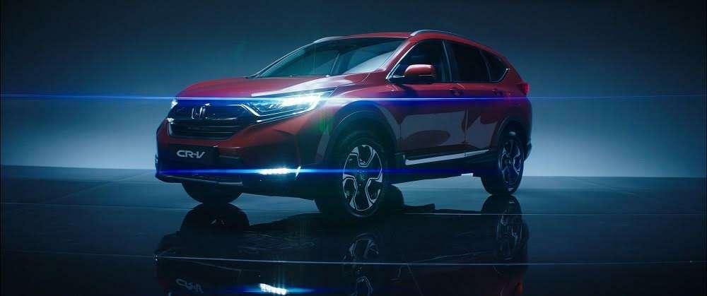 Новая Honda CR-V приехала вРоссию: названы цены— фото 753529