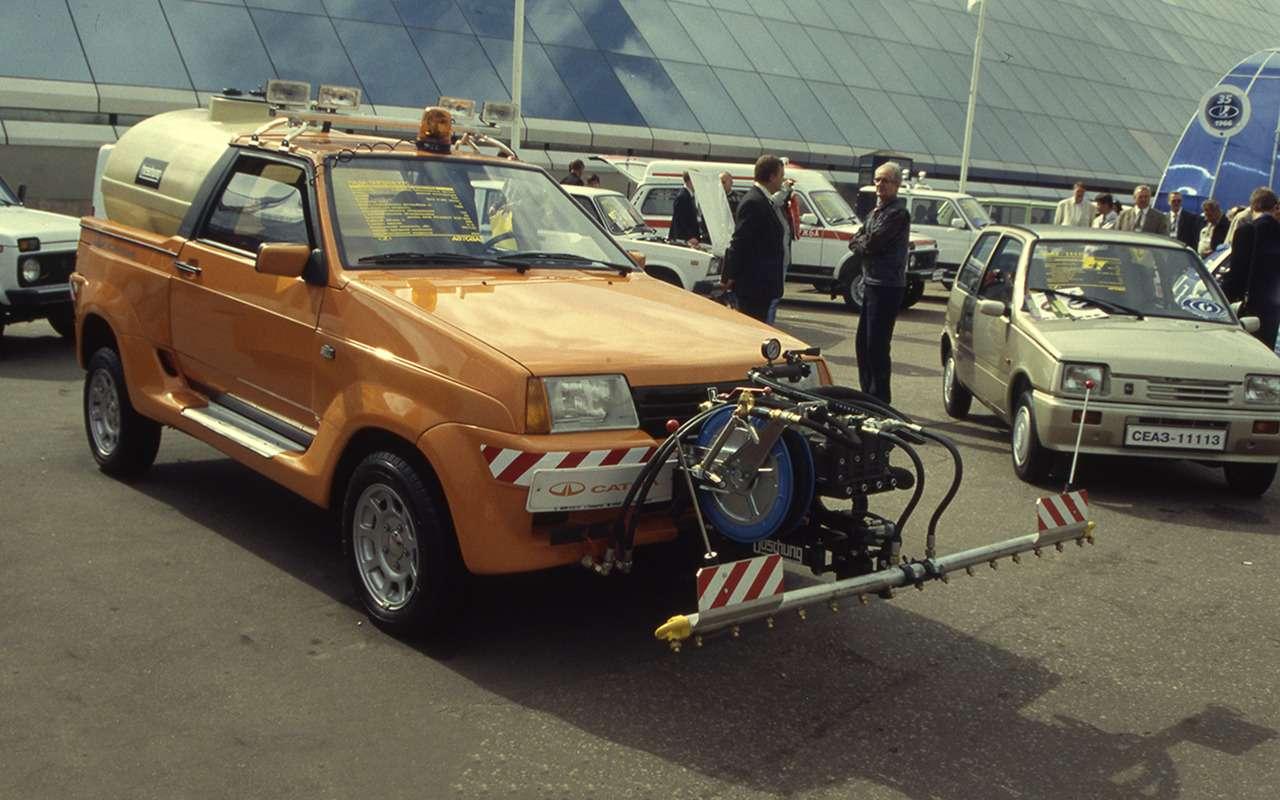 Lada Samara— самые необычные модификации— фото 934919