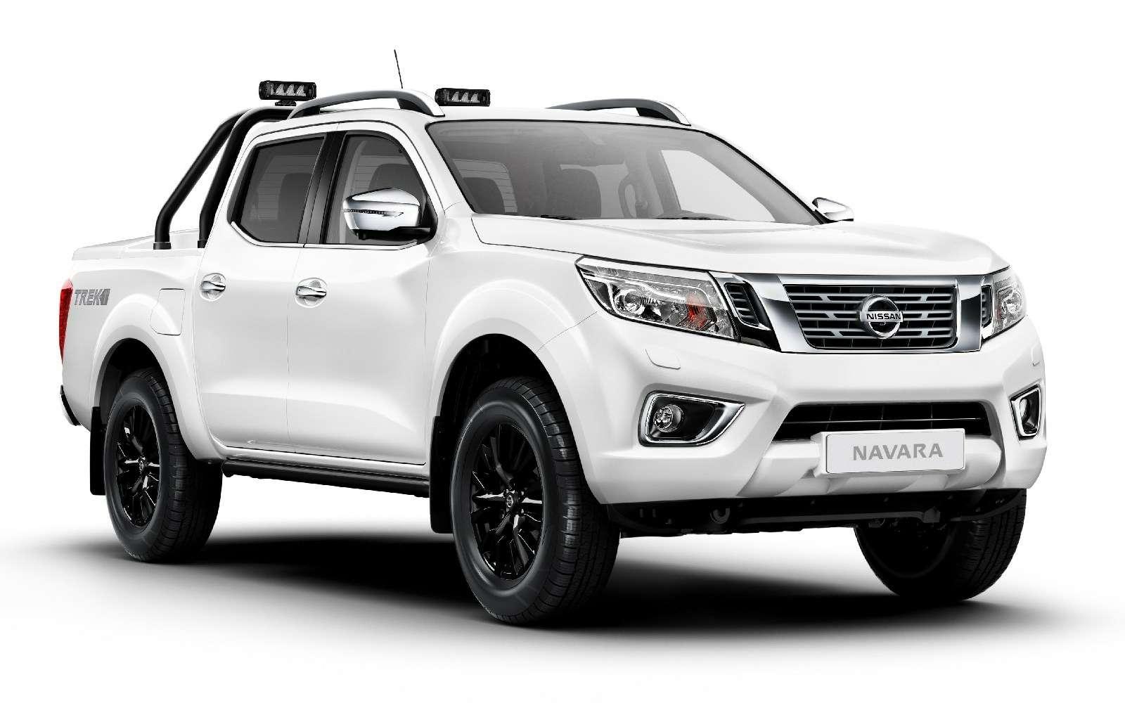 Пикап подградусом: Nissan Navara предстал вэксклюзивном наряде— фото 692387