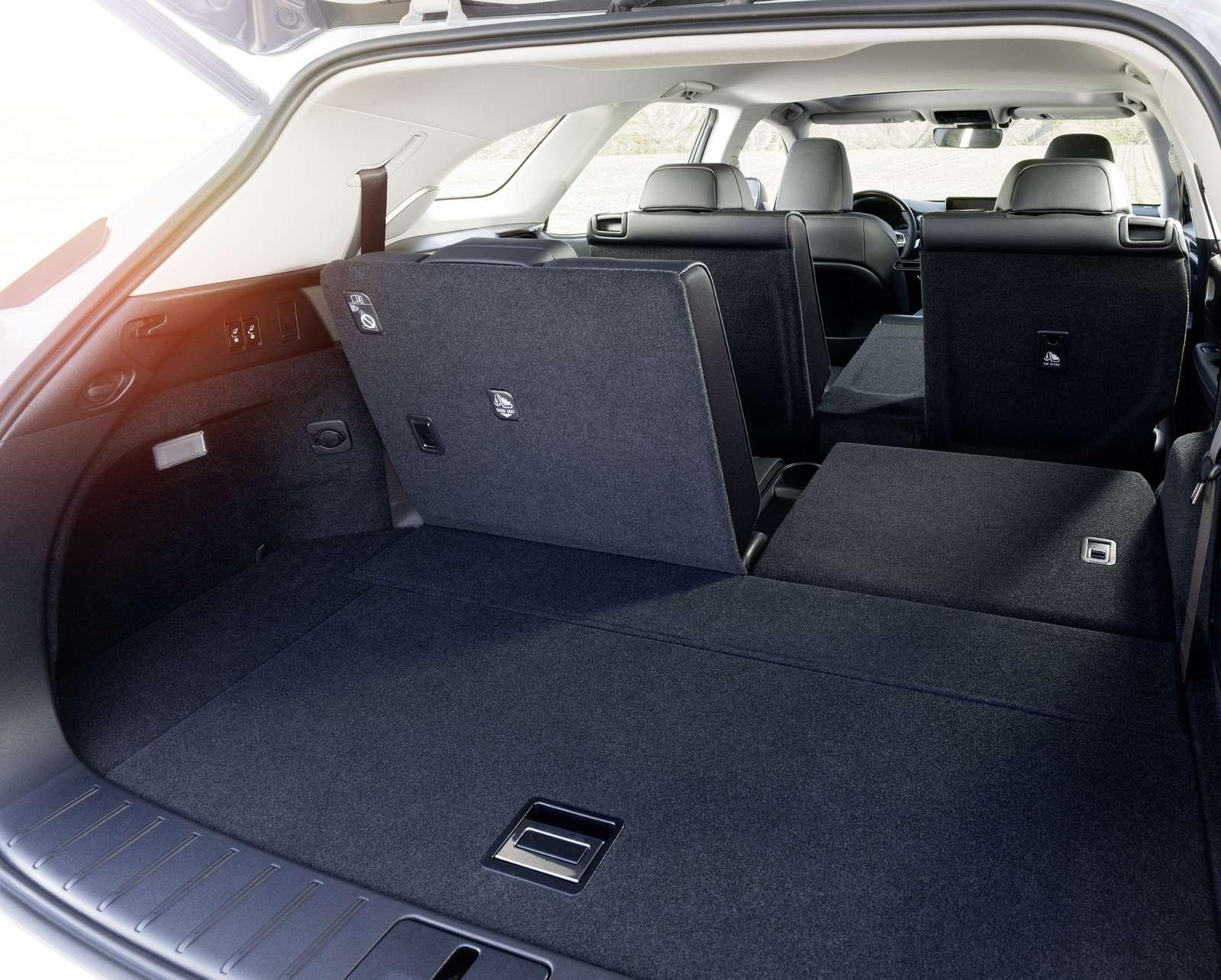 Lexus усадил двоих пассажиров вбагажник RX— фото 821844