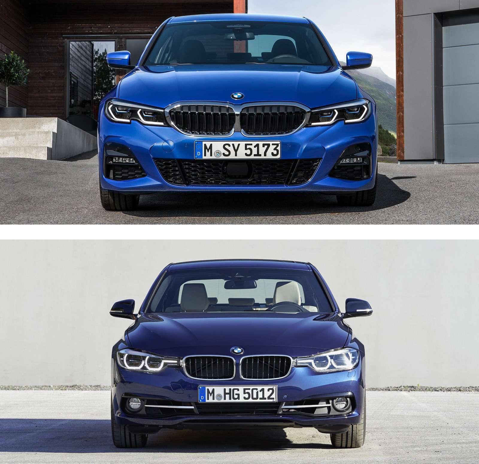 Новая BMW 3-й серии против старой: какая красивее?— фото 912572