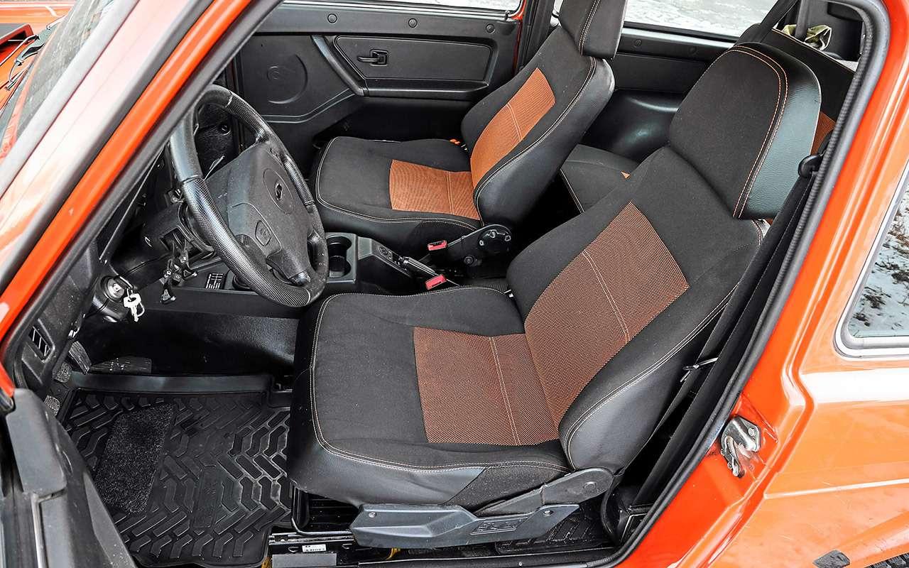 Обновленная Lada 4x4: что вней реально изменилось— фото 1121670
