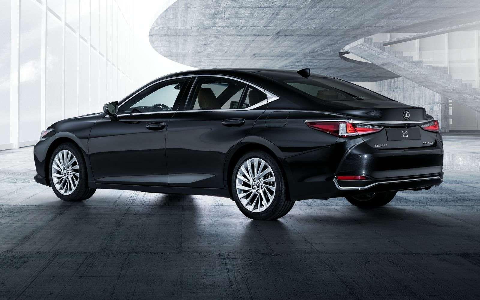 Новый Lexus ES: без полного привода итурбомоторов— фото 865656