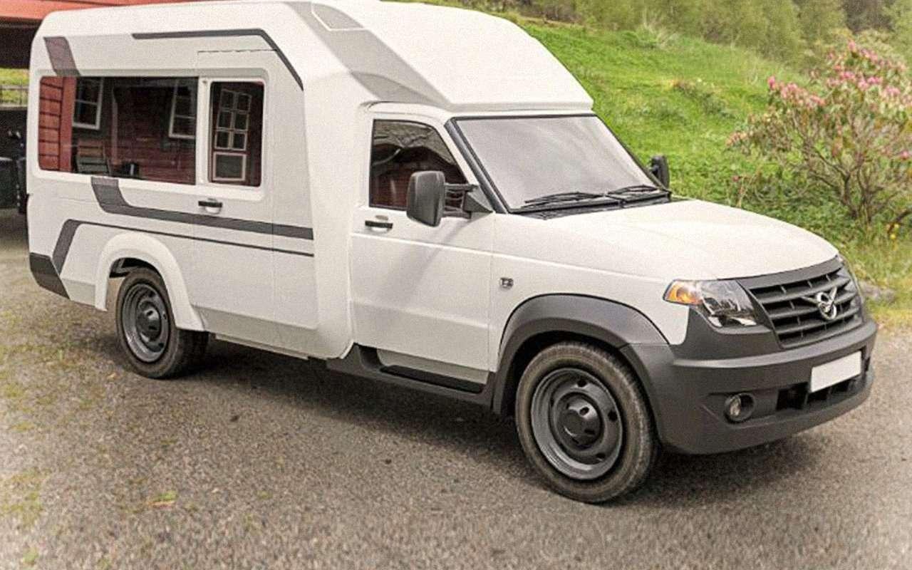 Автодом УАЗ Профи— новые подробности— фото 1265882