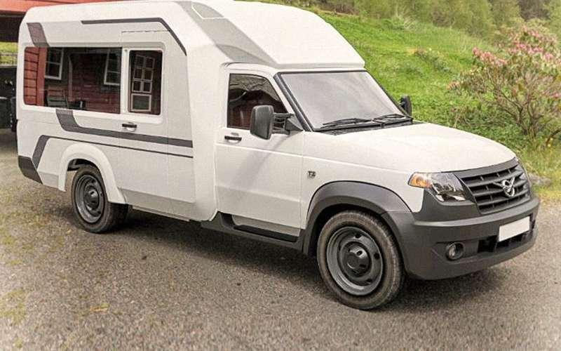 Автодом УАЗ Профи— новые подробности