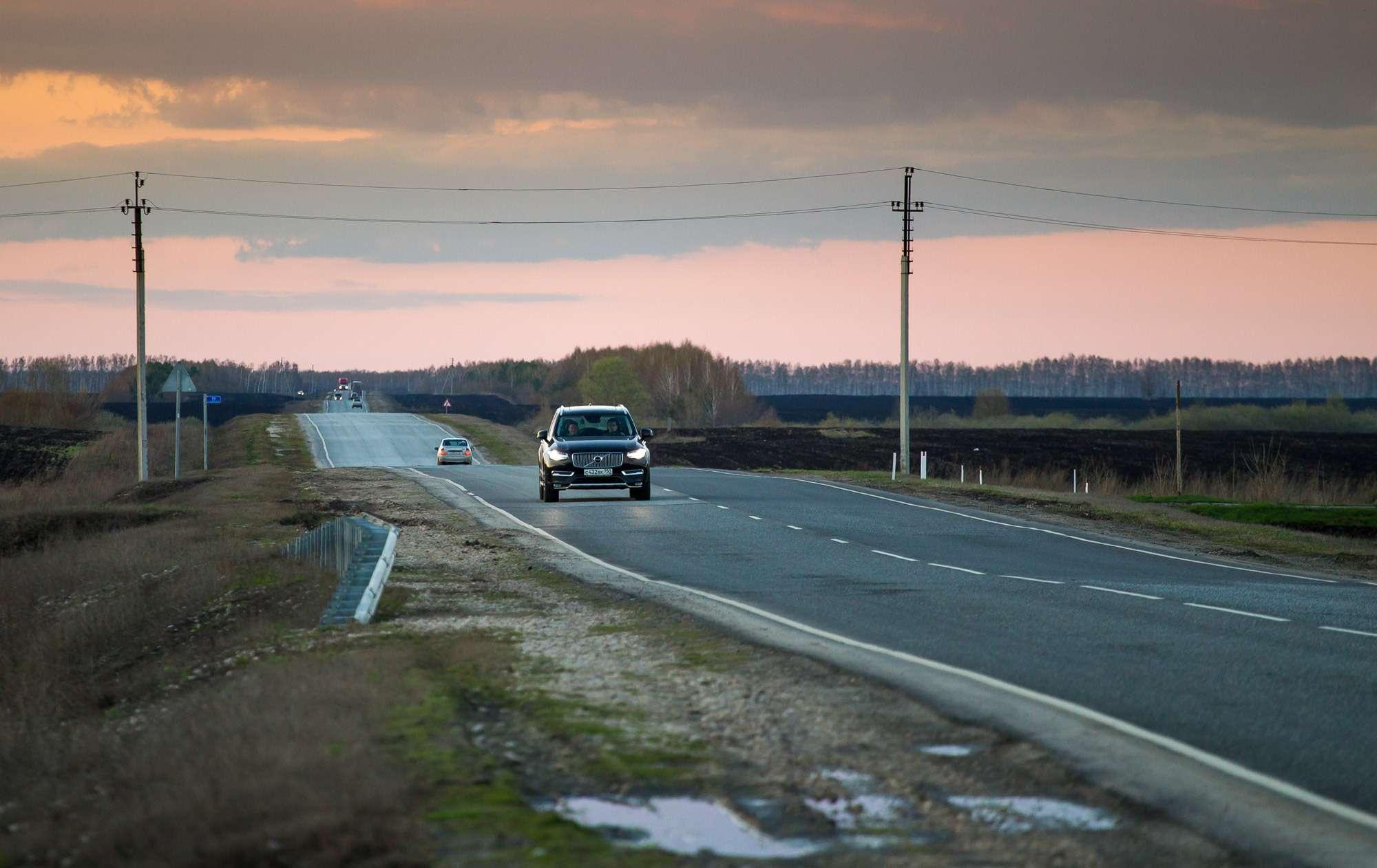 Какведет себя Volvo XC90на дорогах России: пробег Ростов-на-Дону— Челябинск— фото 586533
