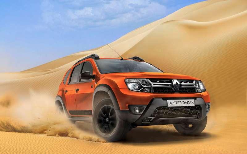 Renault привезла в Россию новую лимитированную серию Duster Dakar