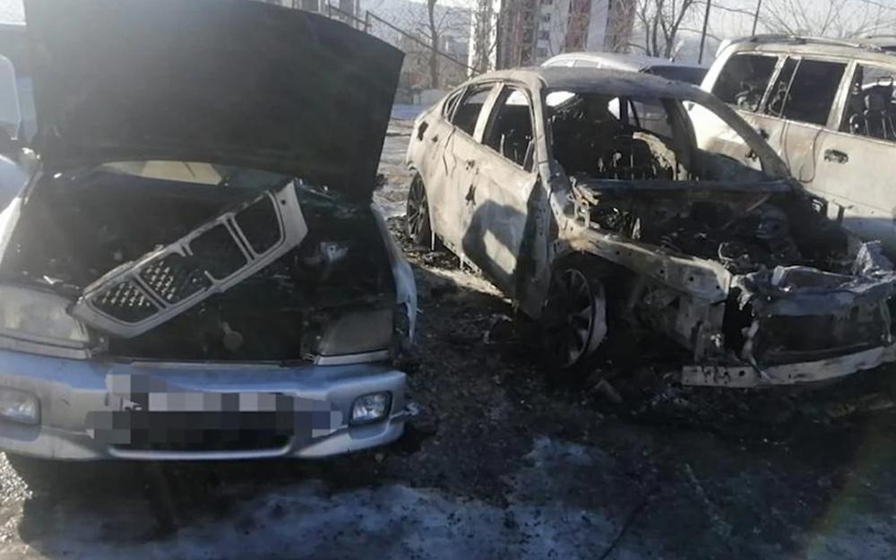 Поджигали ради «авторитета»: пострадали 4авто