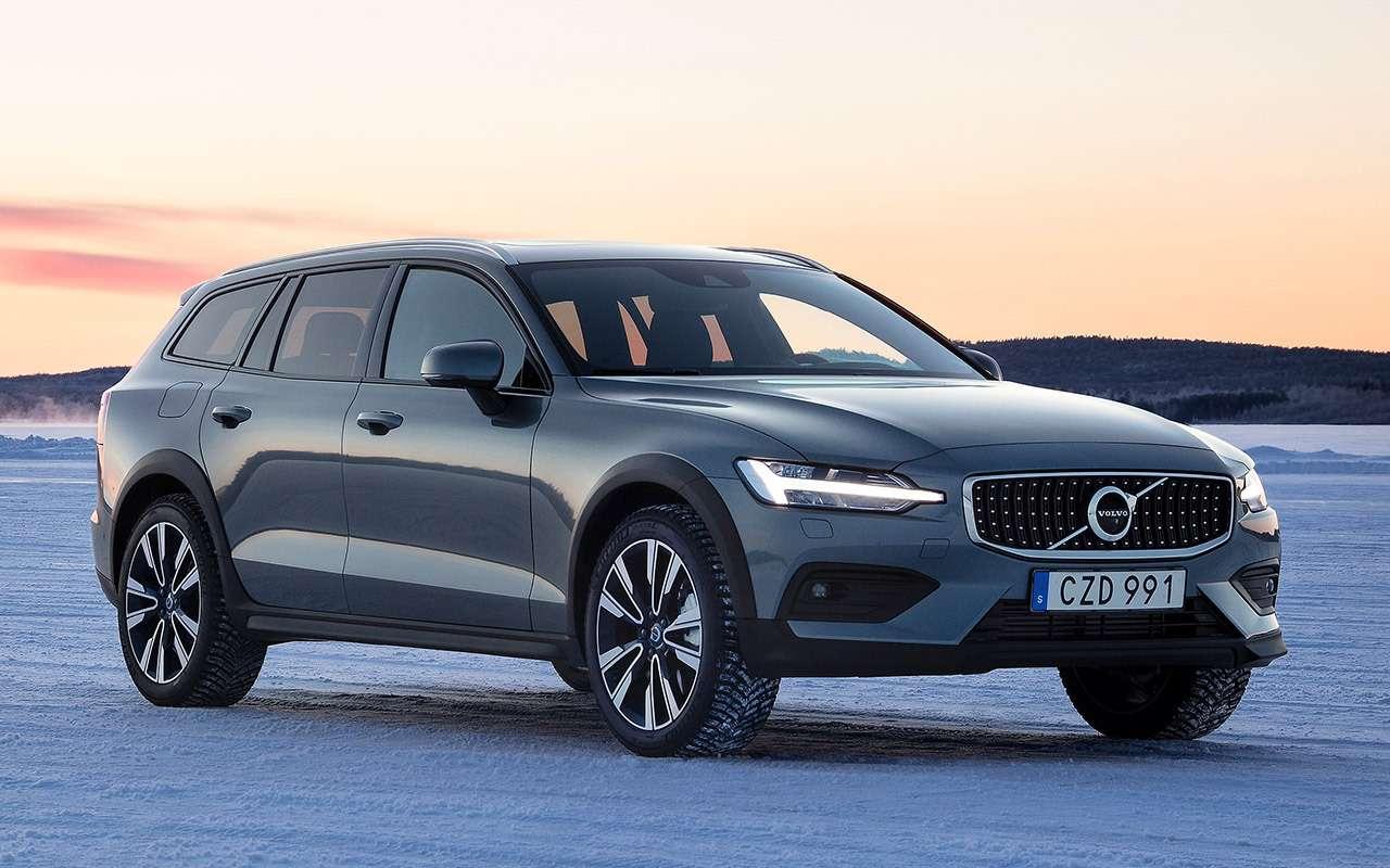 Универсал Volvo V60 Cross Country— тест наснегу ильду— фото 950864