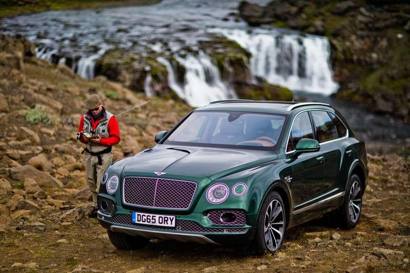 Bentley Bentayga поедет нарыбалку