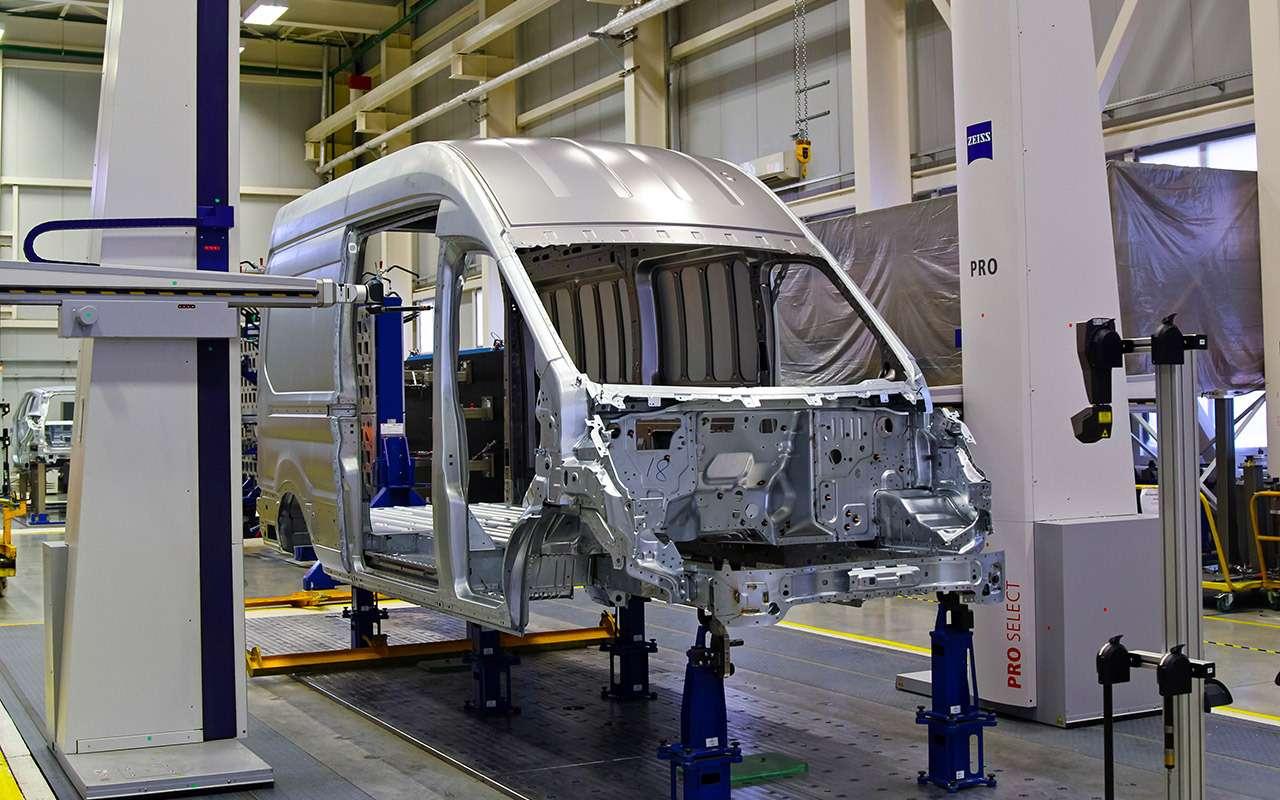 Каксобирают российские Ford Transit— репортаж сзавода— фото 888040