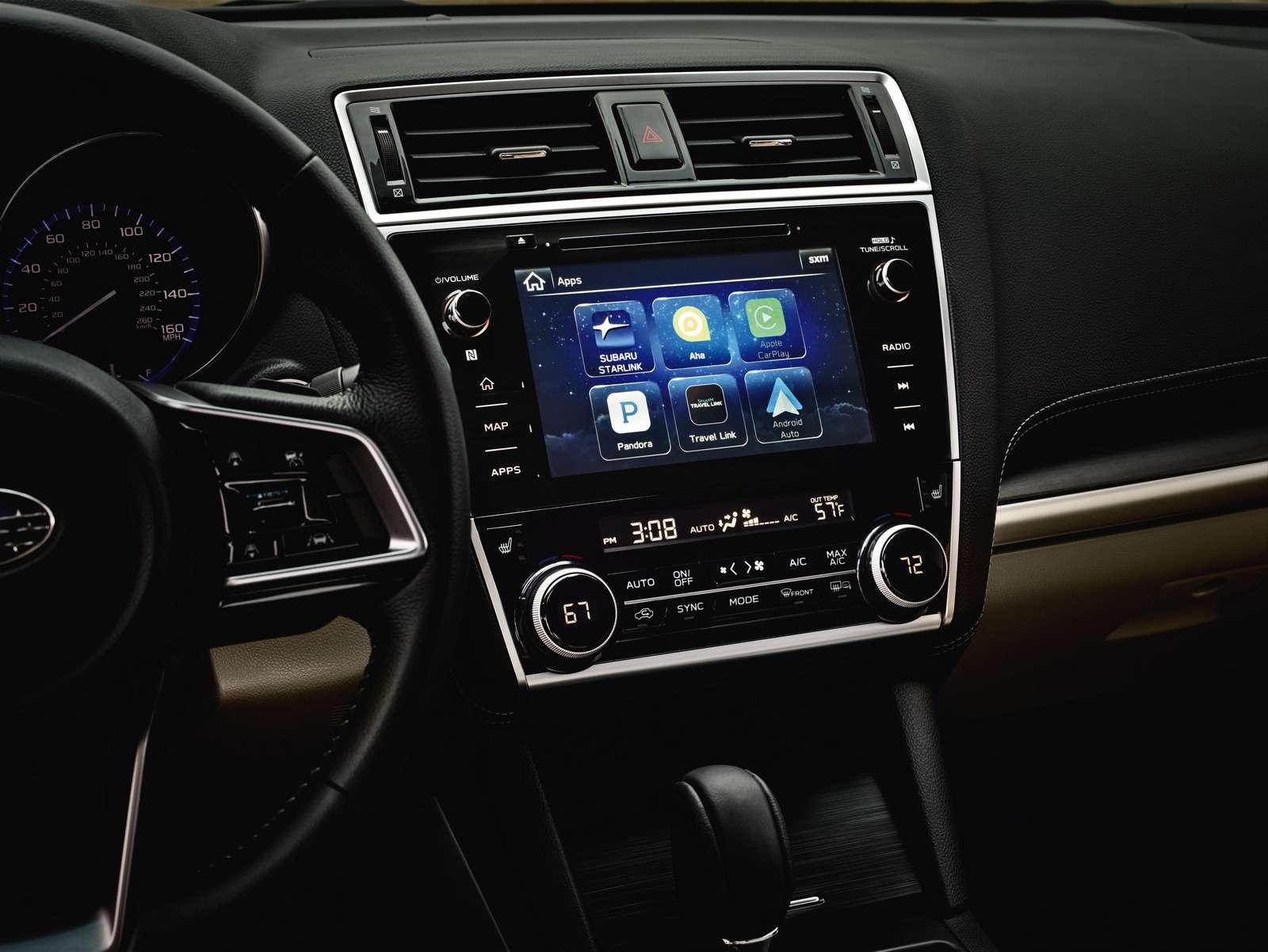 Наследие Америки: Subaru обновила седан Legacy— фото 702297