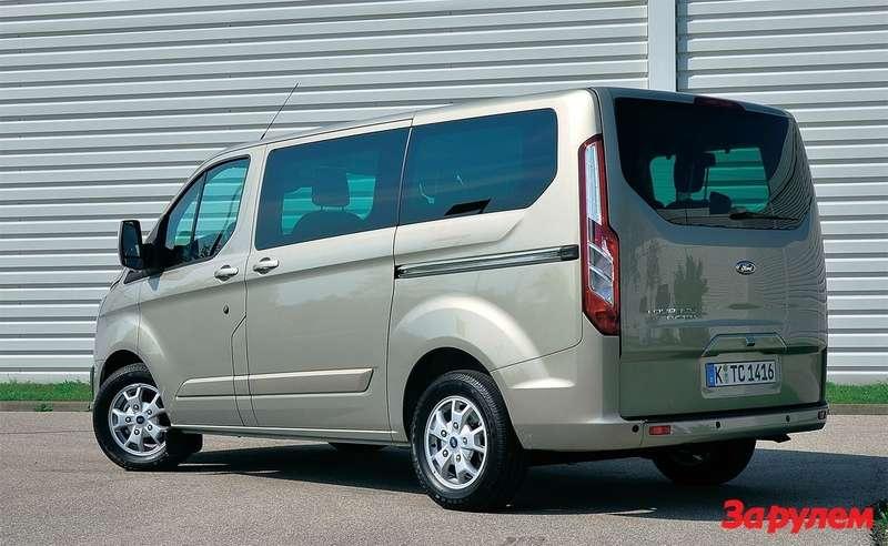 «Турнео Кастом» разработан на глобальной платформе «Форд» грузоподъемностью в тонну.
