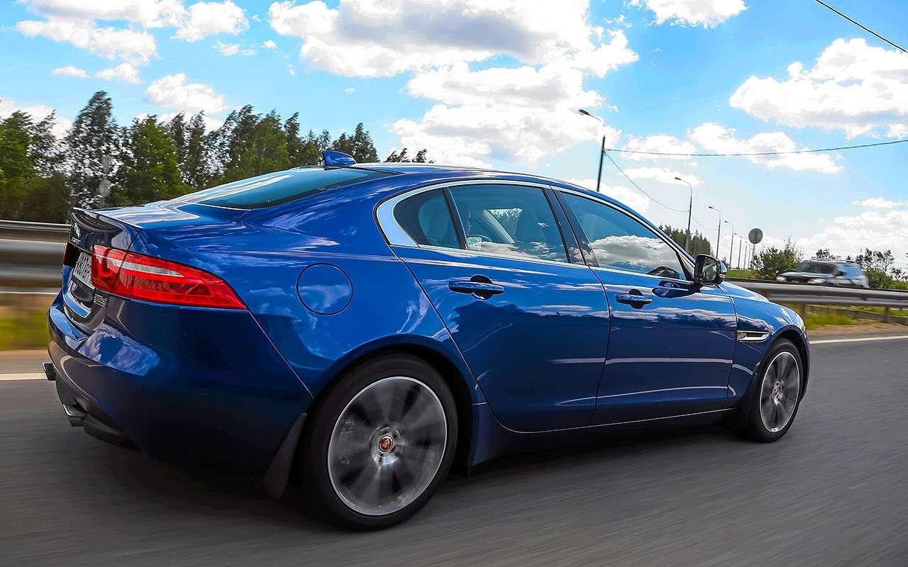 Genesis G70 против Audi A4и Jaguar XE— большой тест— фото 894701