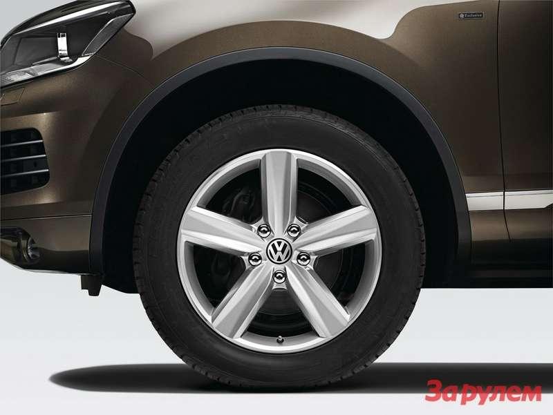 Derneue Touareg mit Volkswagen Exclusive Ausstattungen