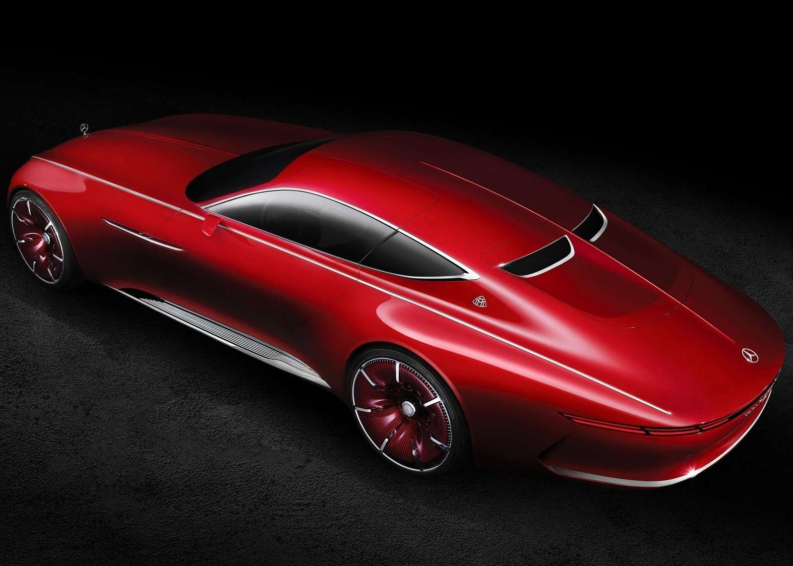 Vision Mercedes-Maybach 6будет соблюдать тишину— фото 621477