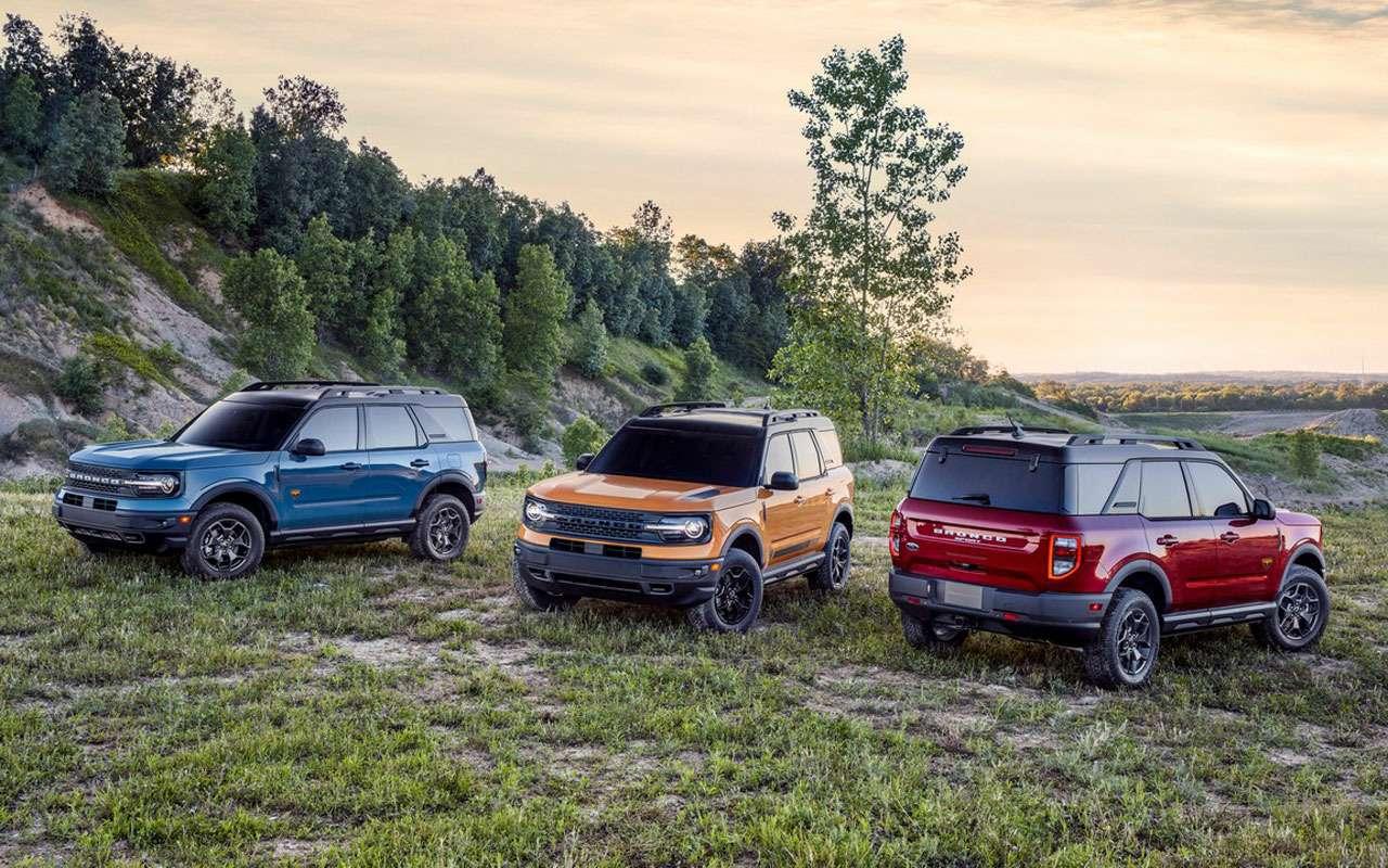 Ford Bronco вернулся— характеристики, фотографии, цены, видео— фото 1144836