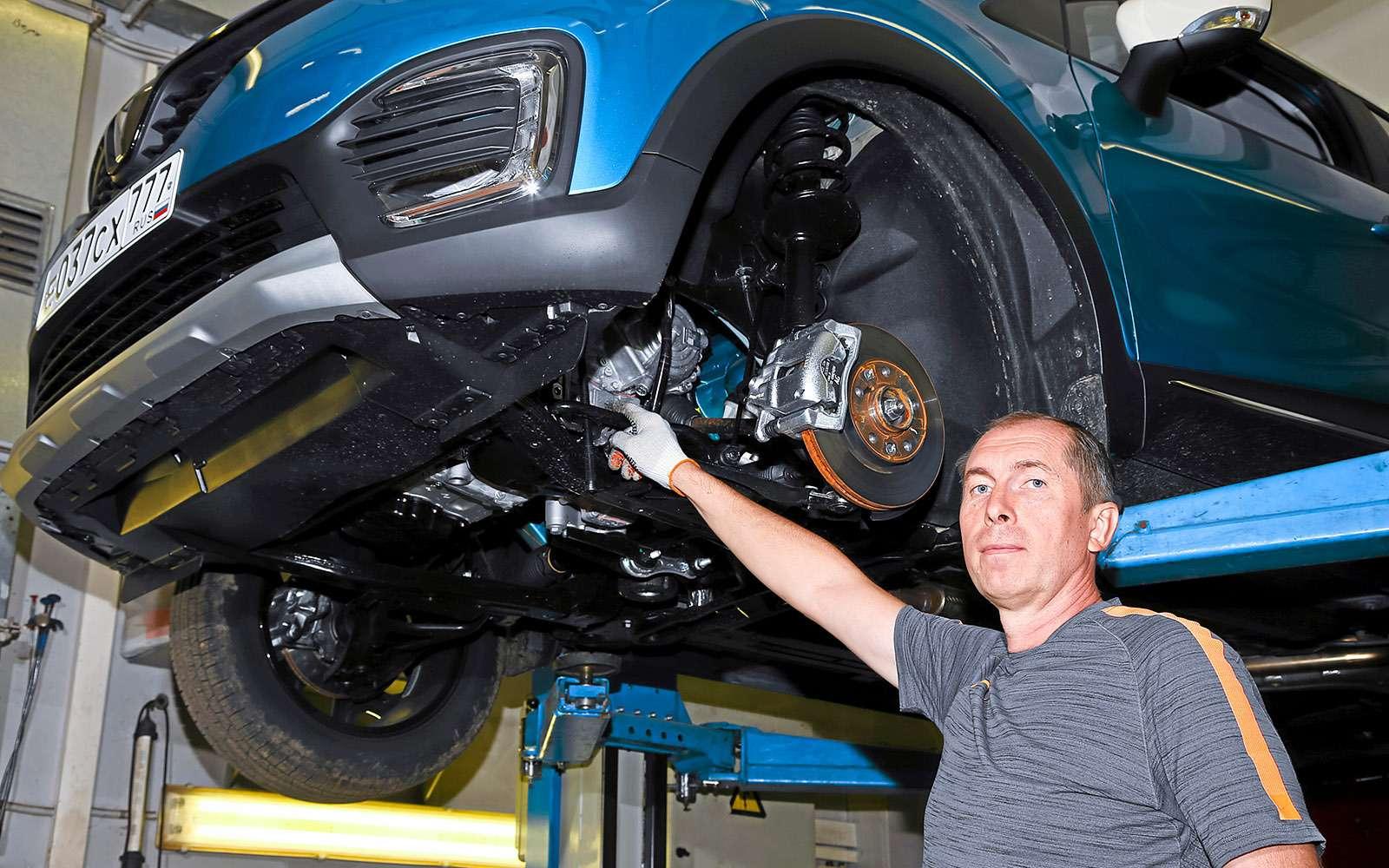 Тест Renault Kaptur CVT: проверка навариативность— фото 645094