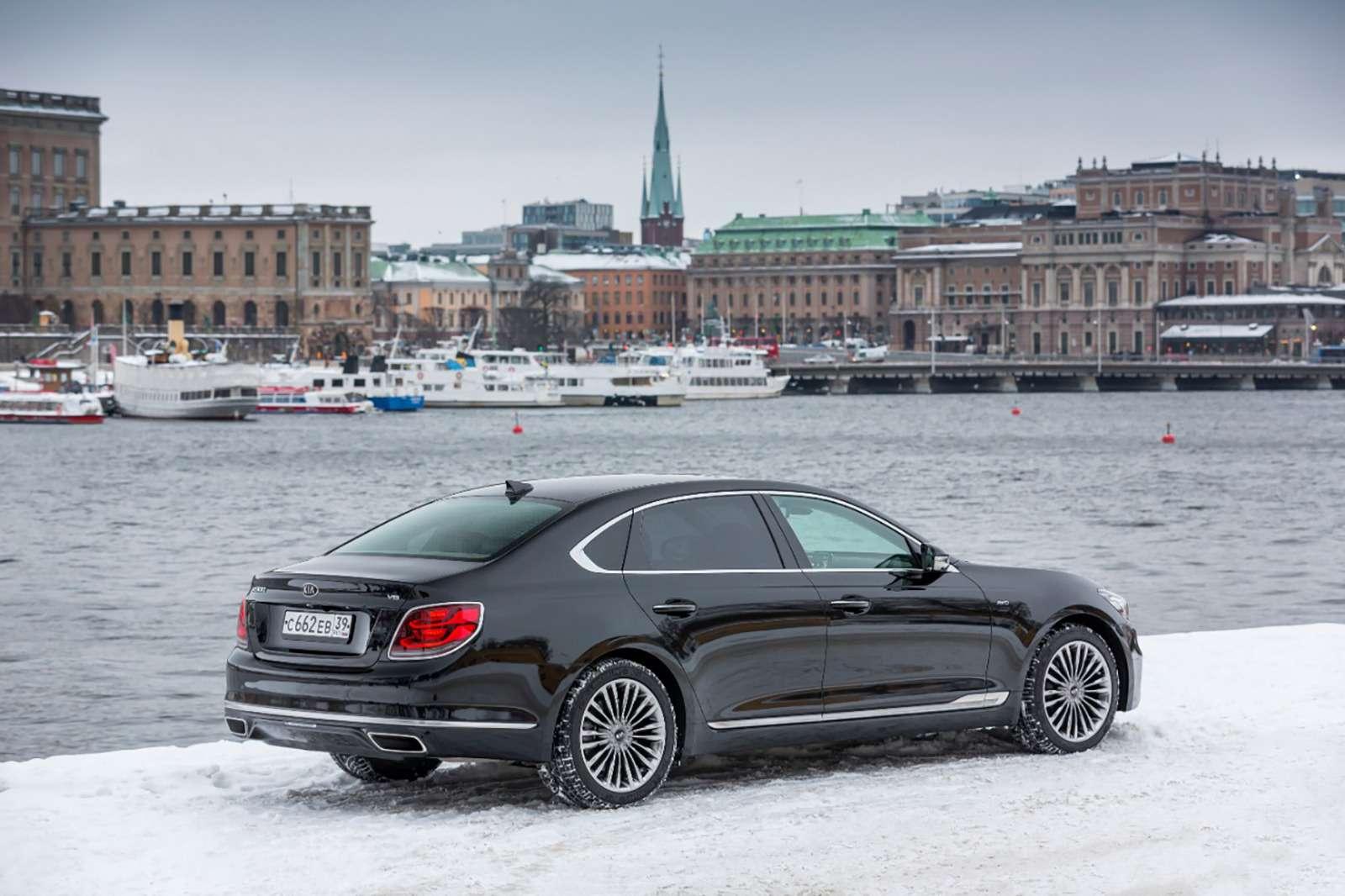 Kiaназвала российские цены нафлагманский седан K900— фото 946136