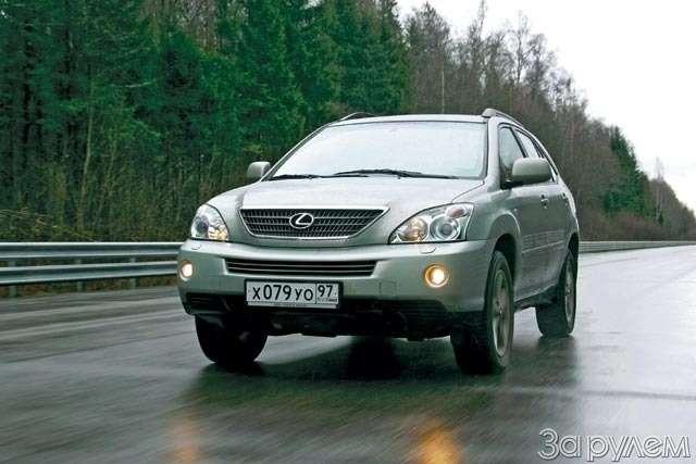 ТЕСТ: Lexus RX300и Lexus RX400h. Контакт высокого напряжения— фото 61240