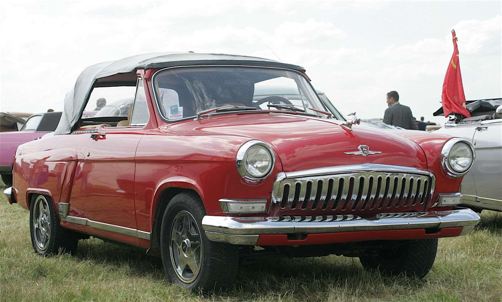 Чертова дюжина самых необычных ГАЗ-21— фото 586971