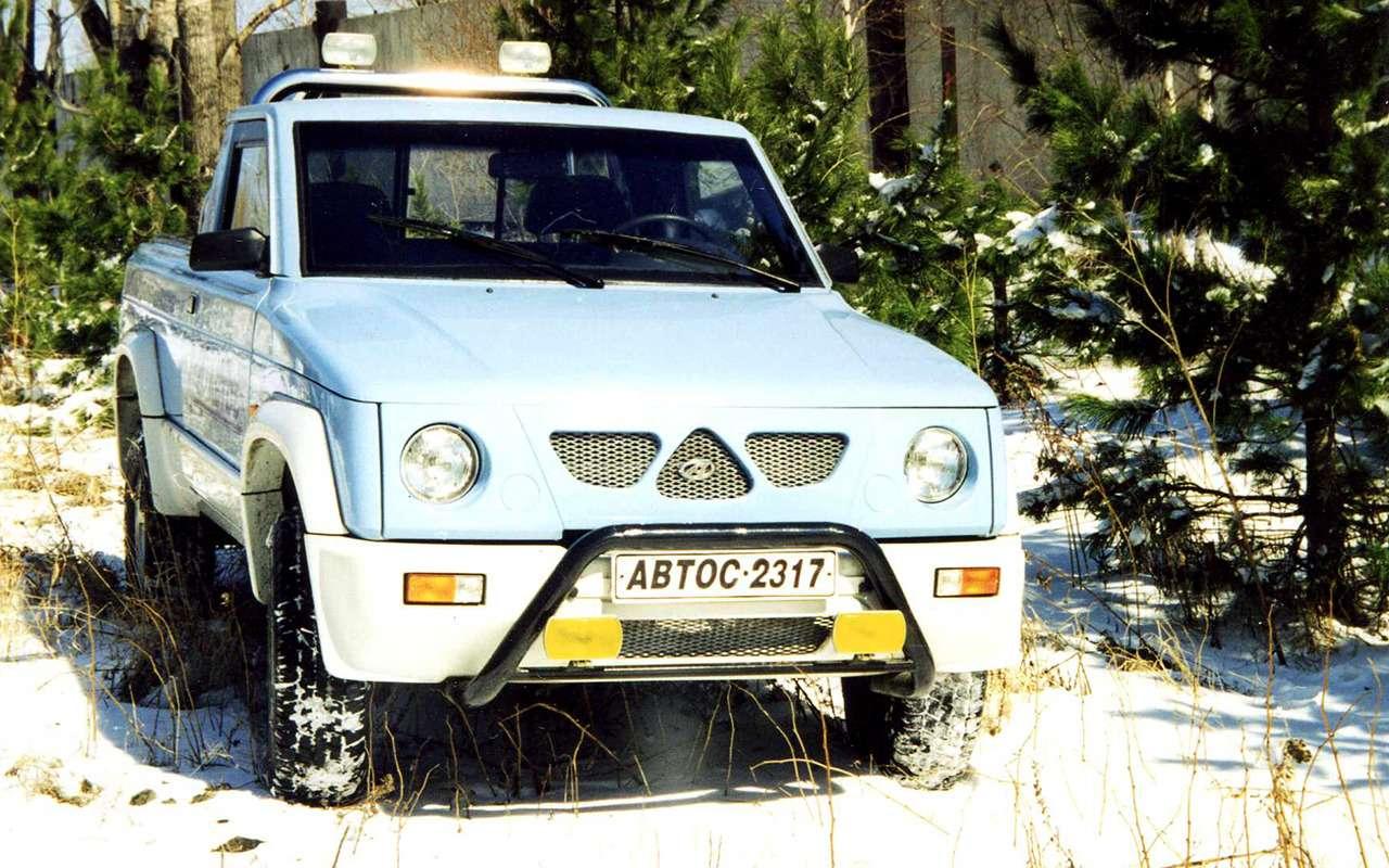 Забытые автопроекты СССР иРоссии: Роствертол, Заря, Канонир...— фото 1160209
