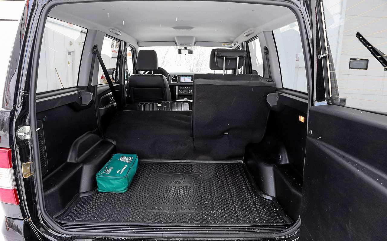 УАЗПатриот 2019— первый тест-драйв серийной машины— фото 942542