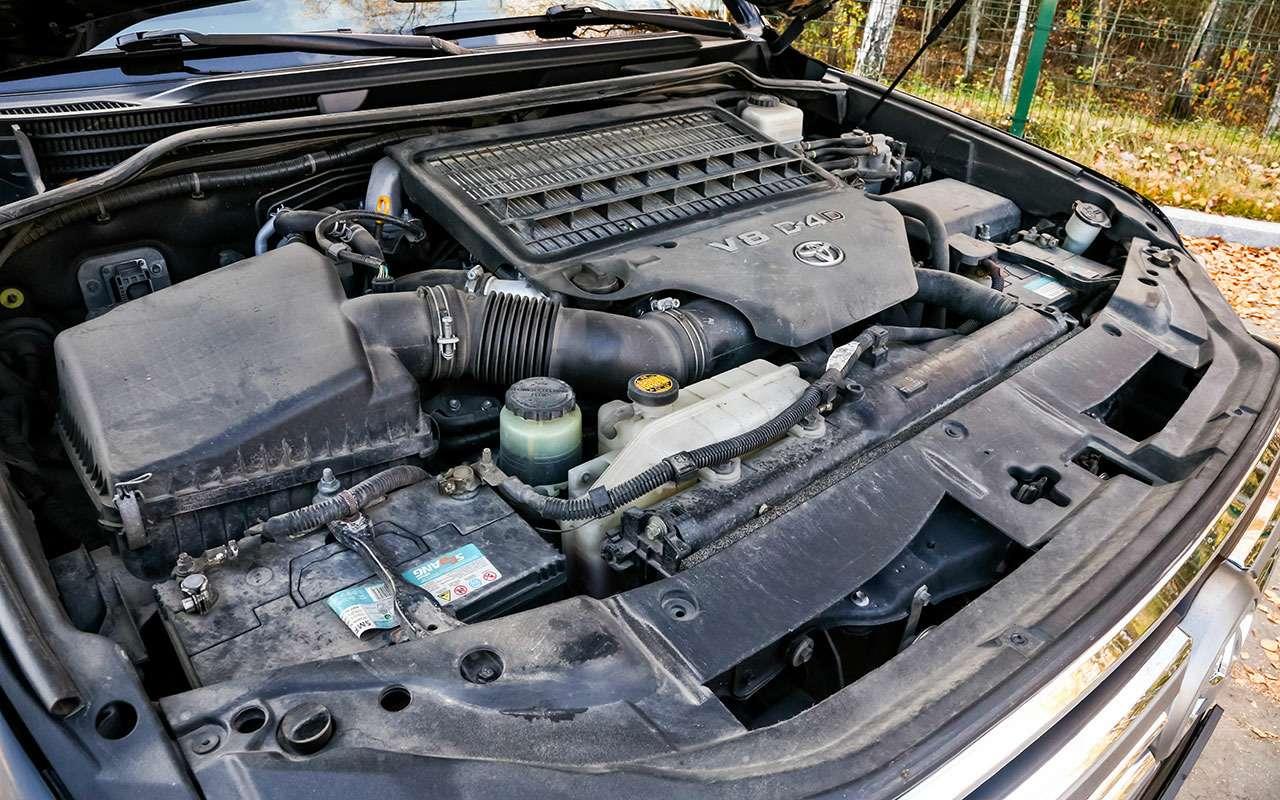 Новый УАЗ Патриот или 10-летний Land Cruiser 200: тест-драйв— фото 1058465