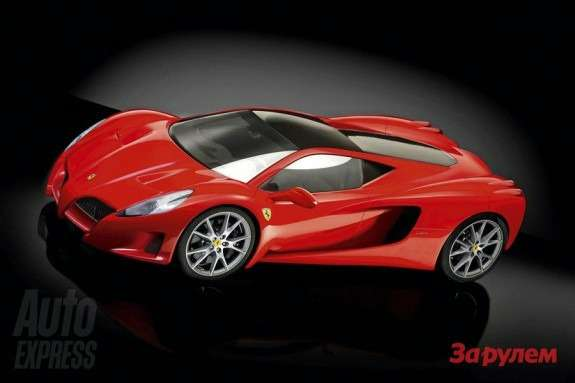 Ferrari F70 rendering byAuto Express