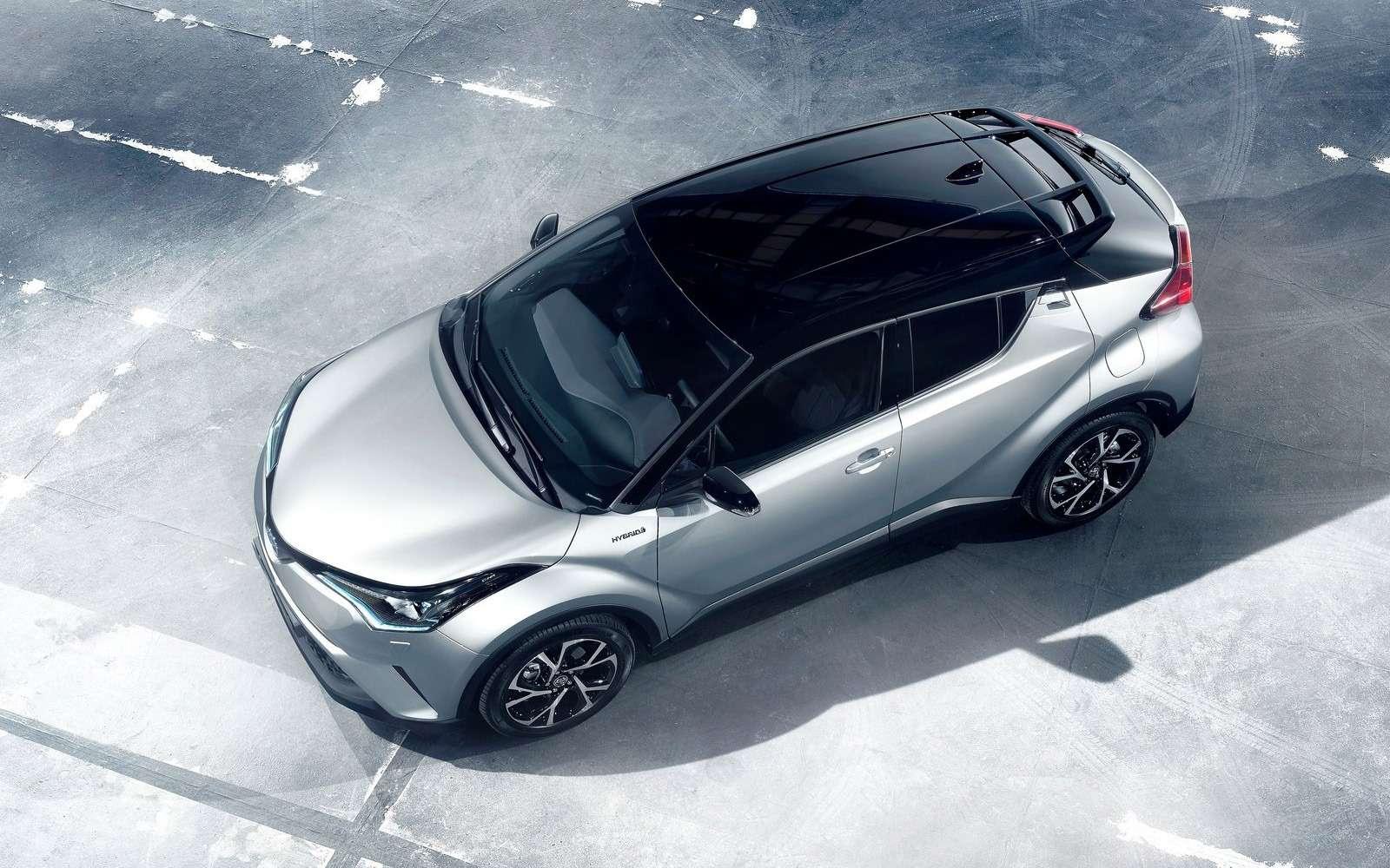 Toyota С-HR: комплектации ицены дляРоссии— фото 882730