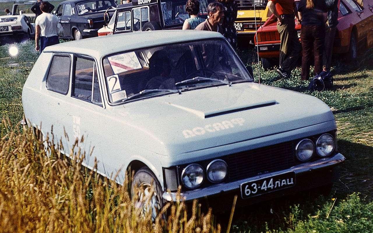 15уникальных самодельных автомобилей времен СССР— фото 809928
