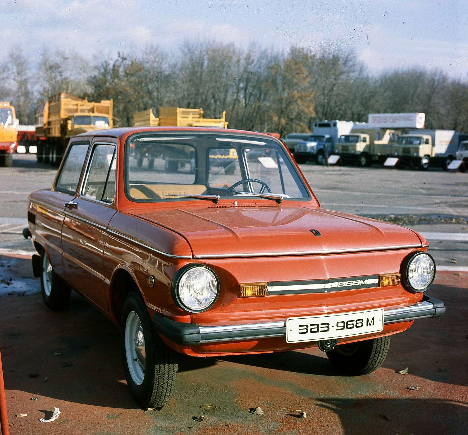 Модернизированный ЗАЗ-968