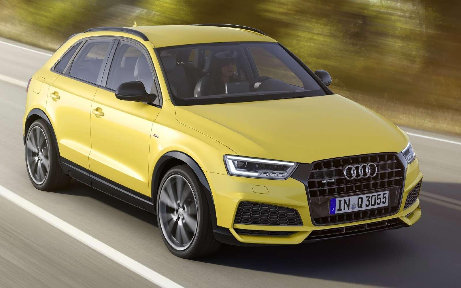Макияж дляветерана: кроссовер Audi Q3опять омолодили— фото 634957